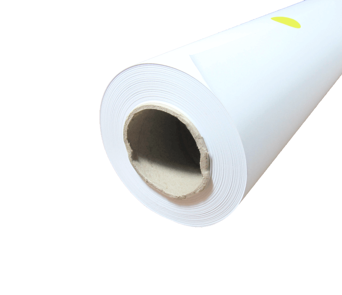 "Papel Sulfite para Plotter 75g Bobina 841mmx50m Tubo 2"""