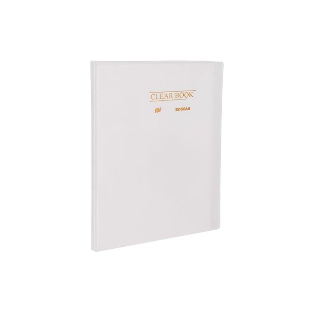 Pasta Catálogo A4 Clear Book Transparente Plastpark 01un
