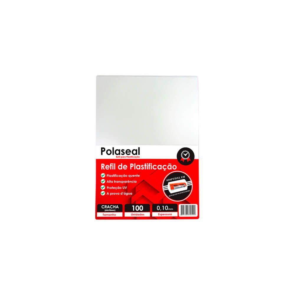 Polaseal Plástico para Plastificação 60x90x0,10mm 100un