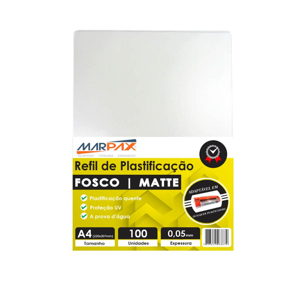 Polaseal Plástico para Plastificação Fosco A4 0,05mm 100un