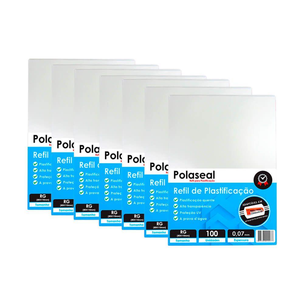 Polaseal RG 1000un Plástico para Plastificação 0,07 175mic