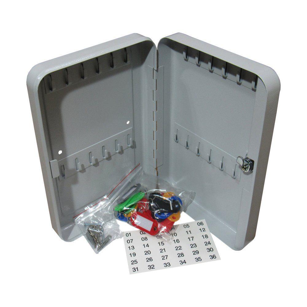 Porta Chave Claviculário Menno TS24 em aço para 24 chaves