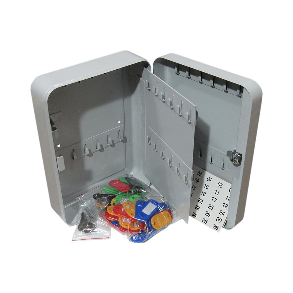 Porta Chave Claviculário Menno TS48 em aço para 48 chaves