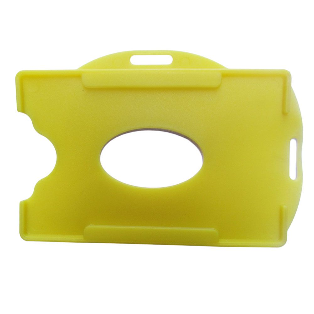 Porta Crachá Amarelo Sólido Universal Marpax 100un