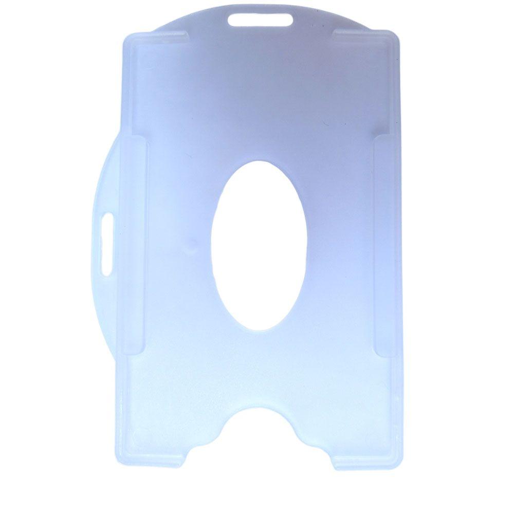 Porta Crachá Transparente Universal Marpax 100un