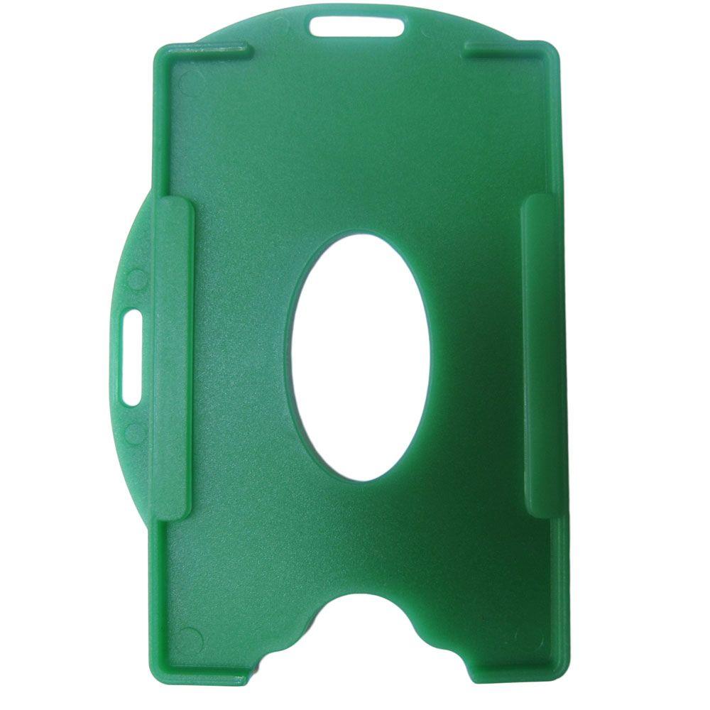 Porta Crachá Verde Sólido Universal Marpax 100un