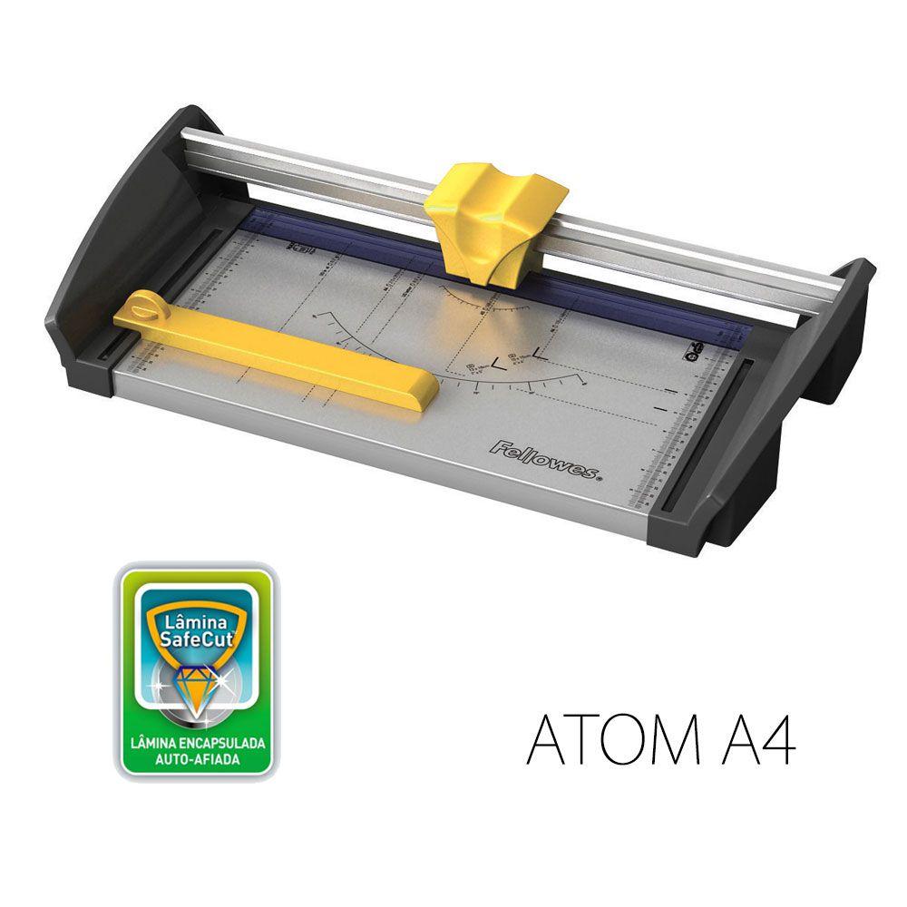 Refiladora de Papel Atom A4 Fellowes 30fls