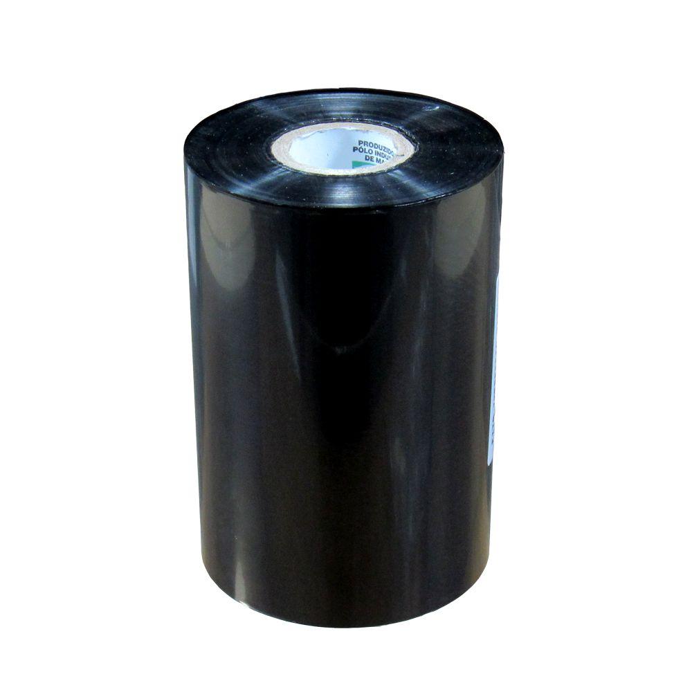 Ribbon Cera Preto para impressora térmica 110x450mm 01un