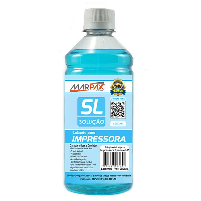 Solução de Limpeza Epson e HP Universal Marpax 100ml