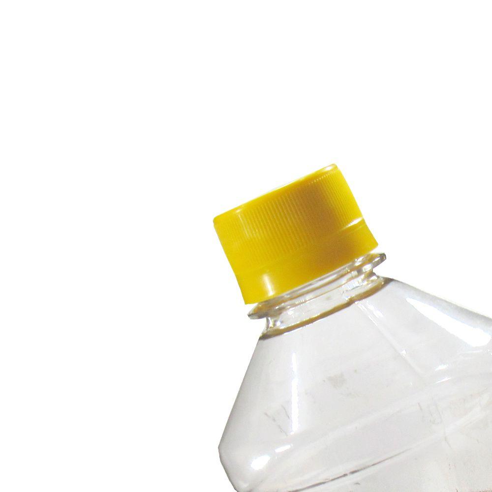 Tampa Plástica com lacre p/ garrafa pet 28mm Coloridas 4000un