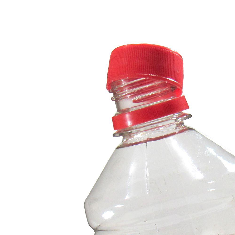 Tampa Plástica com lacre p/ garrafa pet 28mm Coloridas 400un