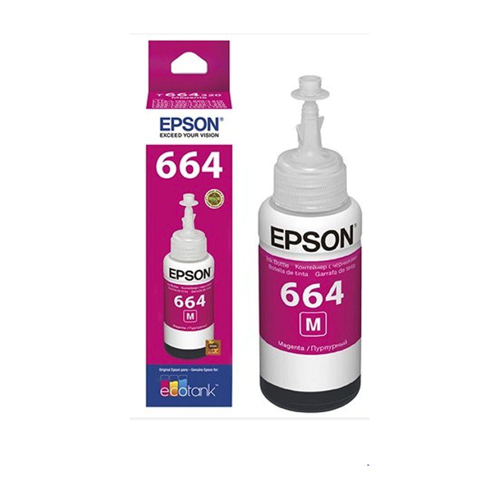 Tinta Epson L355 L365 L375 L455 L200 Original Magenta 70ml