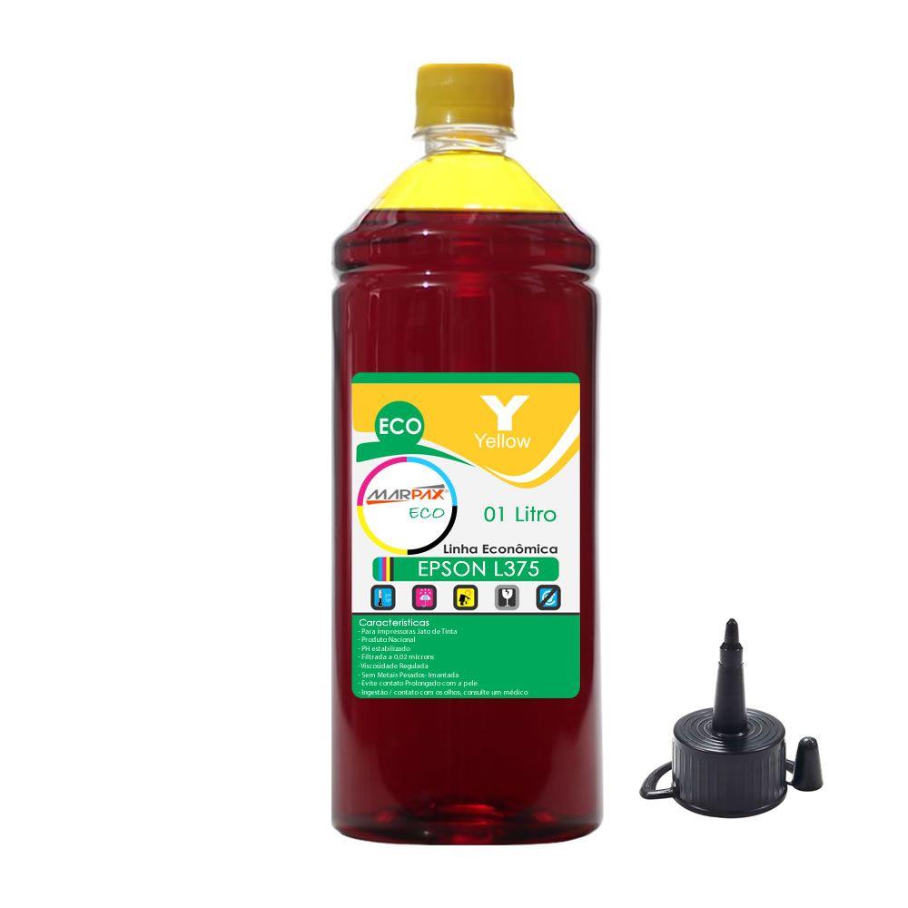 Tinta Epson L375 Tanque Econômica Yellow Marpax 01 Litro