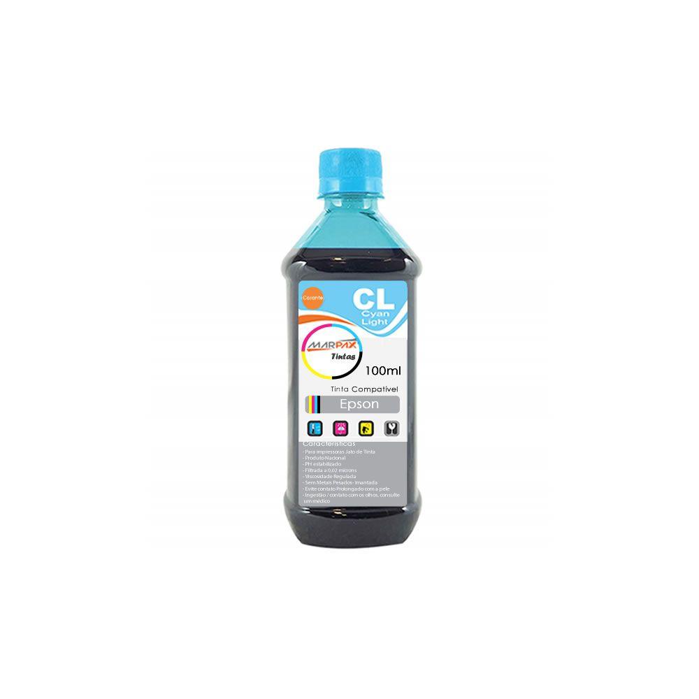 Tinta impressora Epson Universal Cyan Light Marpax 100ml