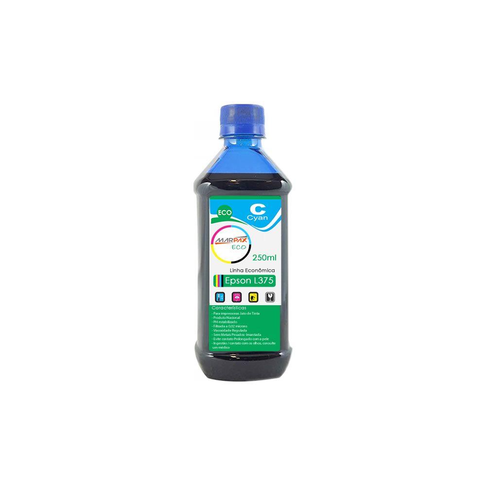 Tinta para Epson L375 Tanque Econômica Cyan Marpax 250ml