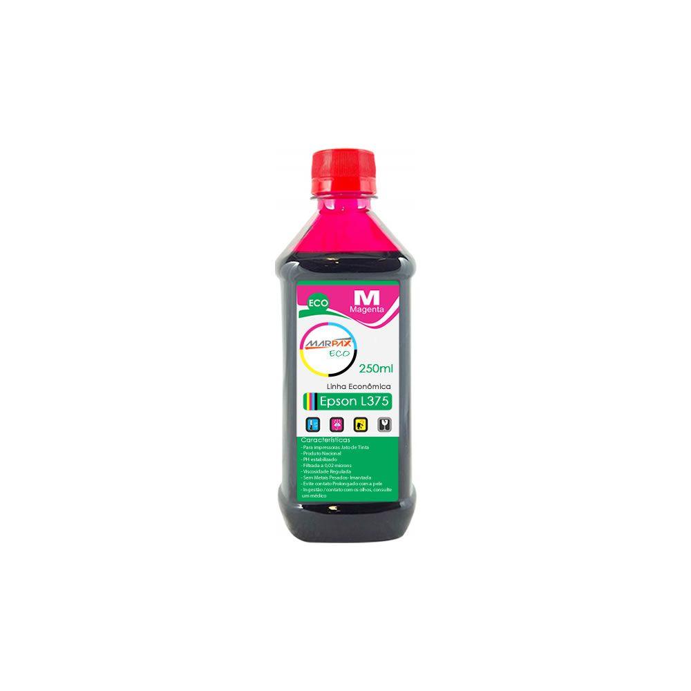 Tinta para Epson L375 Tanque Econômica Magenta Marpax 250ml