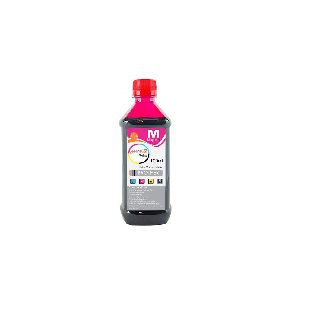 Tinta para Impressora Brother Comp. Magenta Marpax 100ml