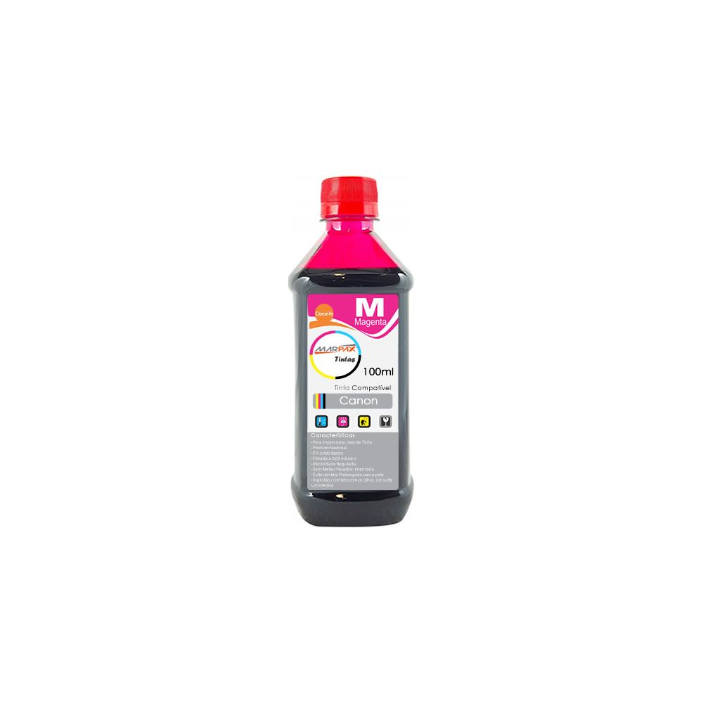 Tinta para impressora Canon Compatível Magenta Marpax 100ml