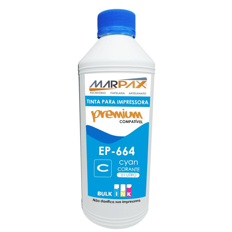 Tinta para impressora Epson 664 compatível Premium 4x1000ml