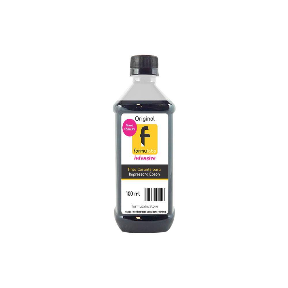 Tinta para impressora Epson compatível Black Formulabs 100ml