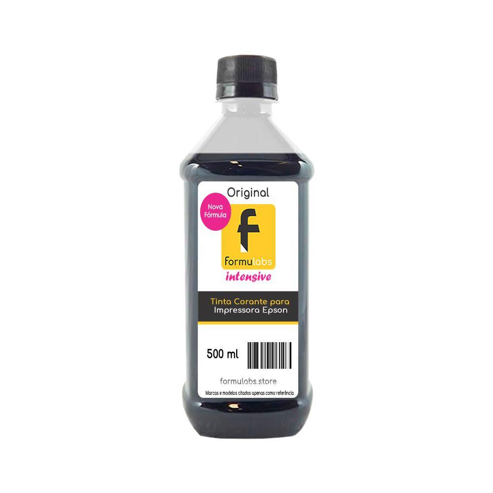 Tinta para impressora Epson compatível Black Formulabs 500ml