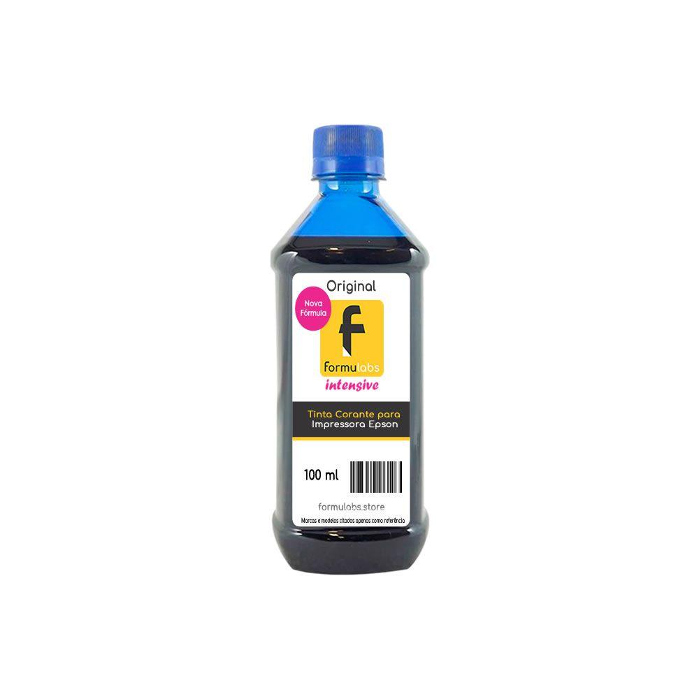 Tinta para impressora Epson compatível Cyan Formulabs 100ml