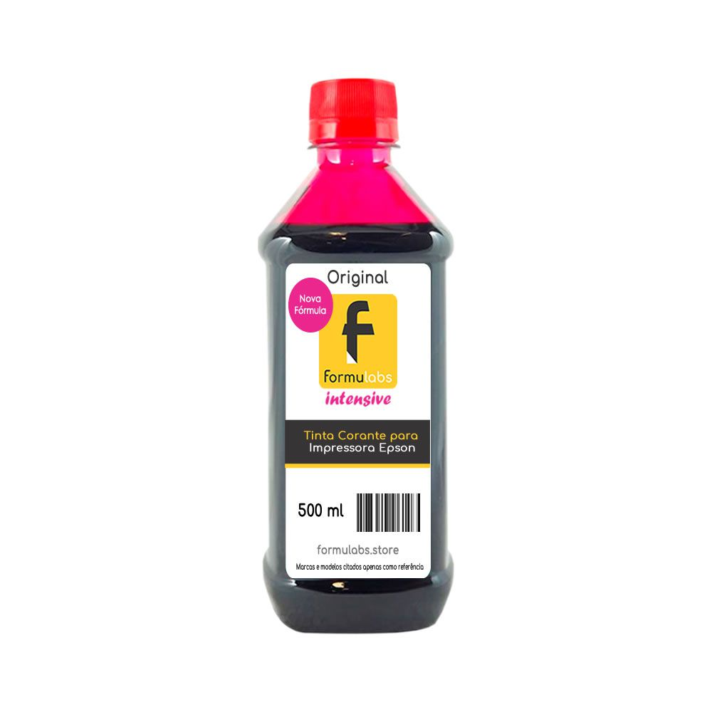 Tinta para impressora Epson compatível Magenta Formulabs 500ml