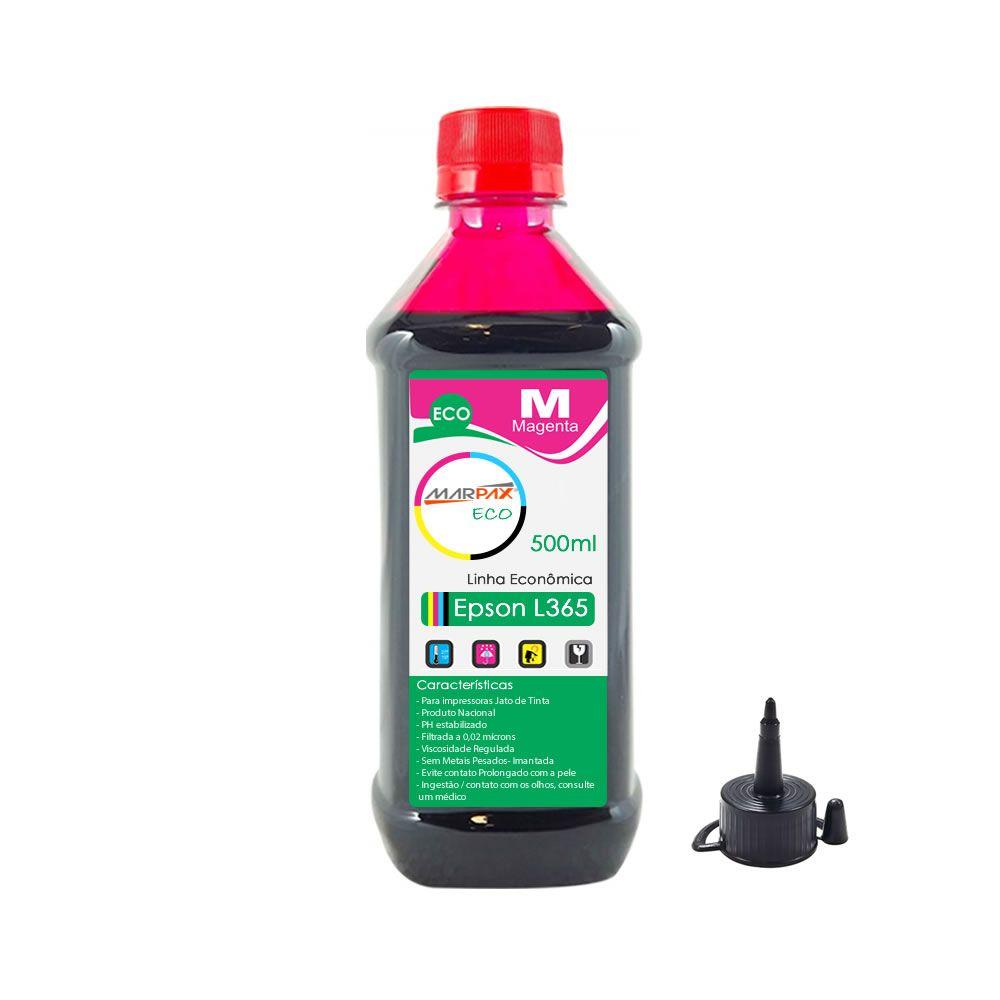 Tinta para Impressora Epson L365 Eco Magenta Marpax 500ml