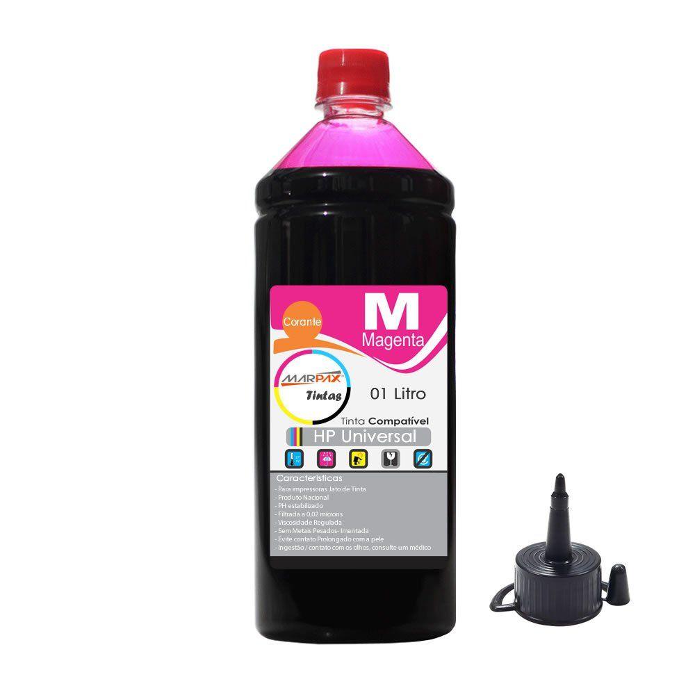 Tinta para impressora HP Magenta Compatível Marpax 01 Litro