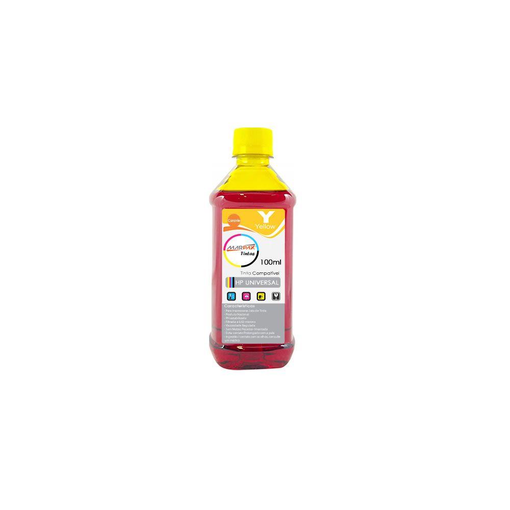 Tinta para impressora HP Yellow Compatível Marpax 100ml