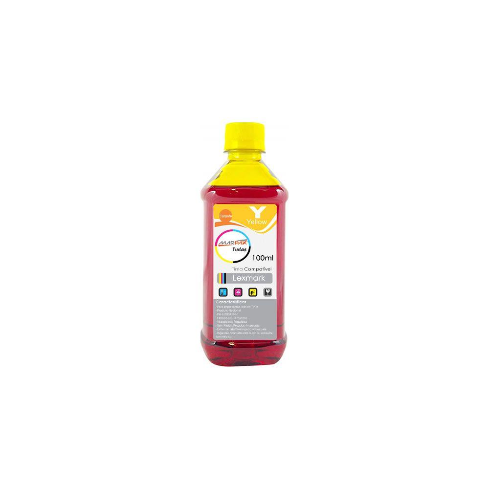 Tinta para impressora Lexmark Compatível Yellow Marpax 100ml