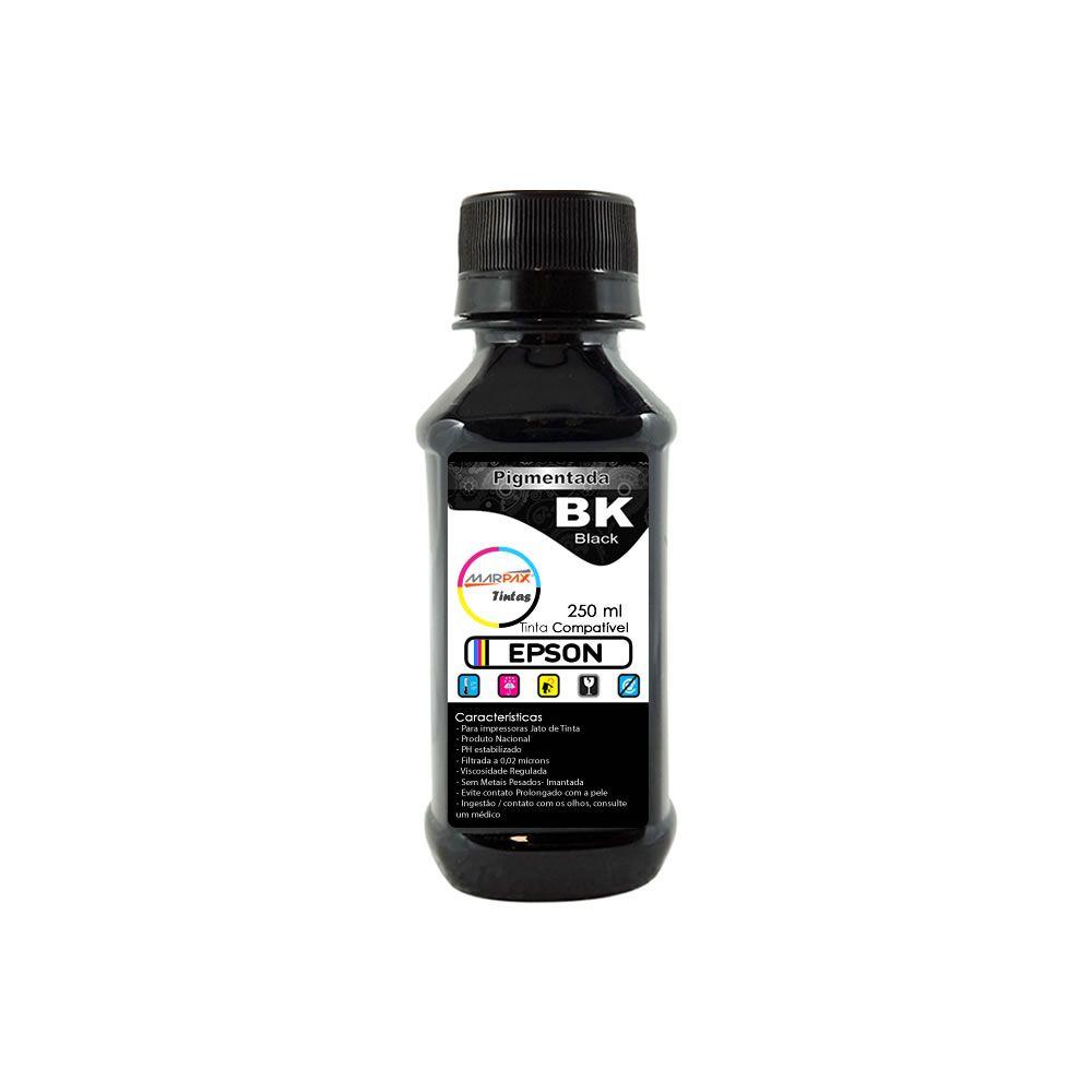 Tinta Pigmentada Epson Compatível Black Marpax 250ml