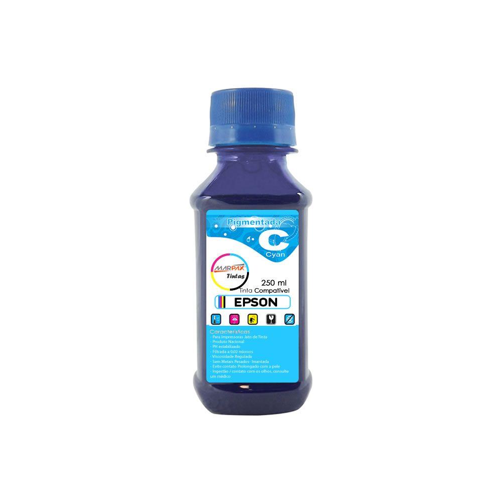 Tinta Pigmentada Epson Compatível Cyan Marpax 250ml