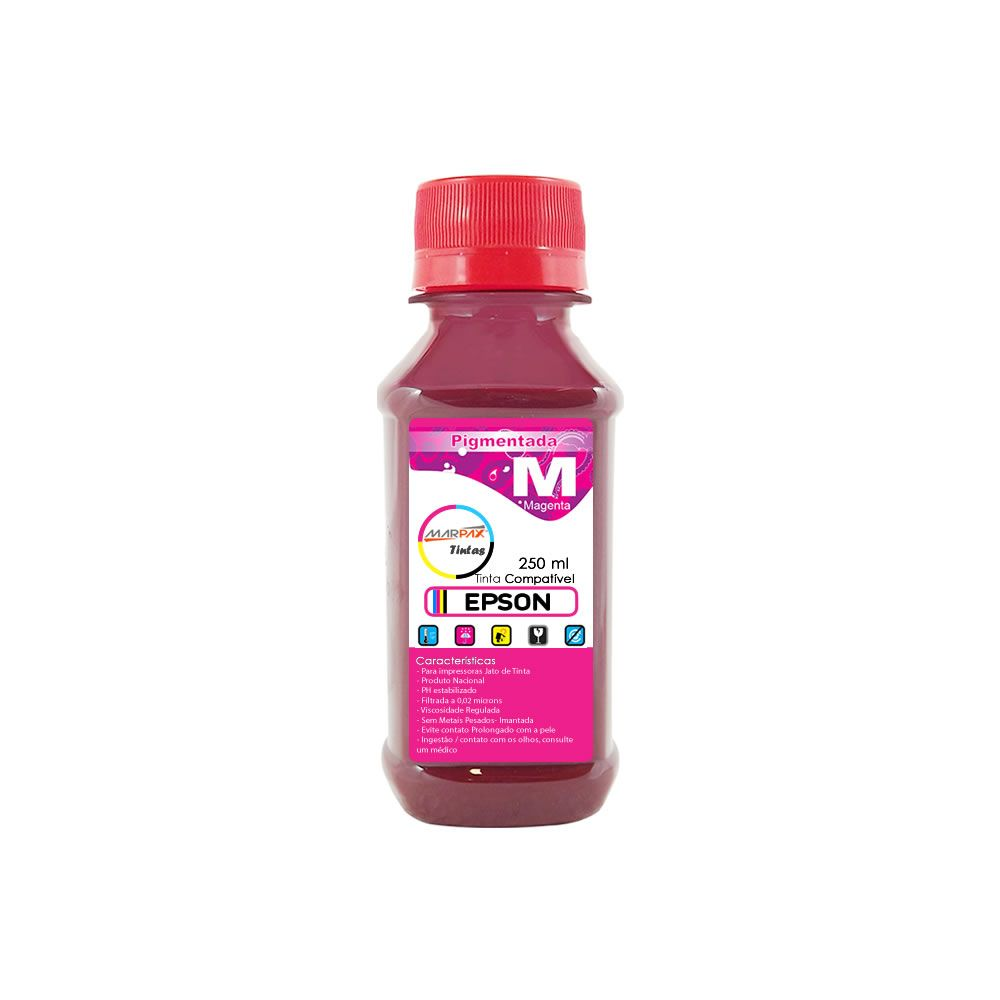 Tinta Pigmentada Epson Compatível Magenta Marpax 250ml