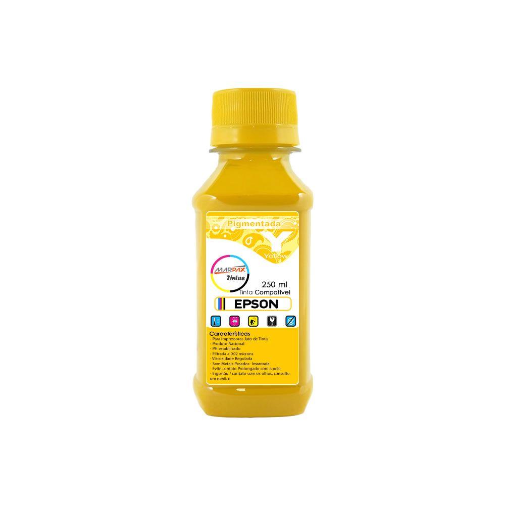 Tinta Pigmentada Epson Compatível Yellow Marpax 250ml