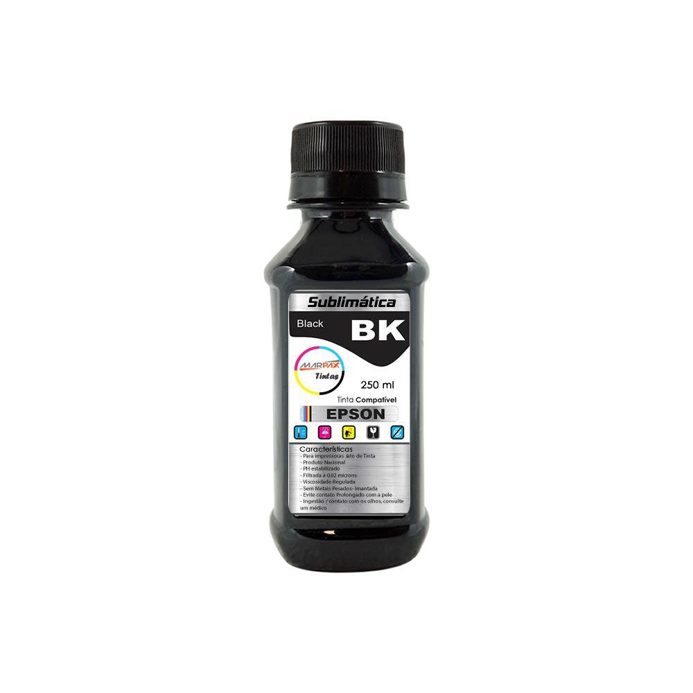 Tinta Sublimática Epson Compatível Black Marpax 250ml