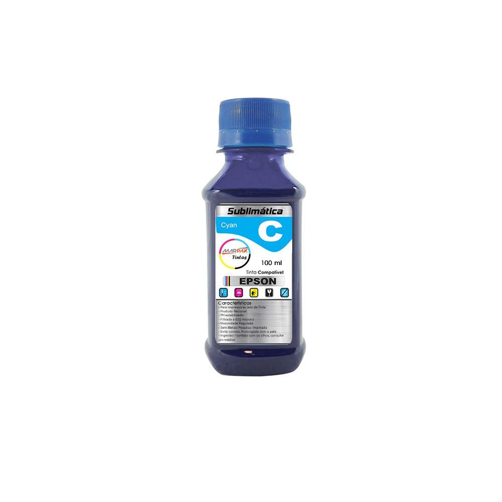 Tinta Sublimática Epson Compatível Cyan Marpax 100ml
