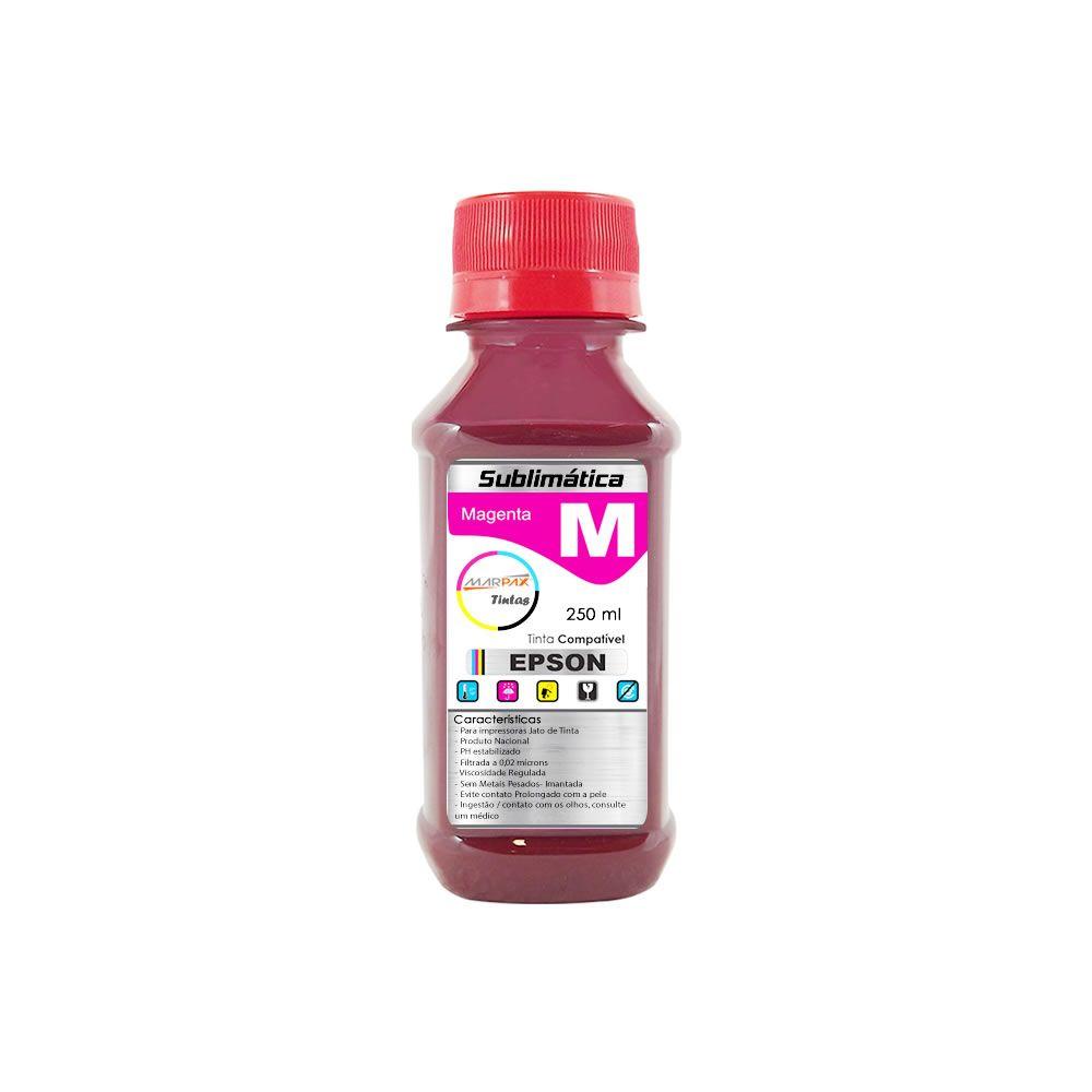 Tinta Sublimática Epson Compatível Magenta Marpax 250ml