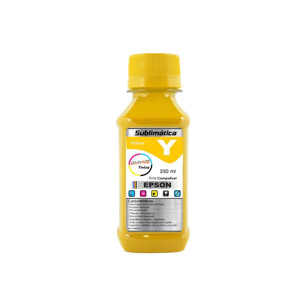 Tinta Sublimática Epson Compatível Yellow Marpax 250ml