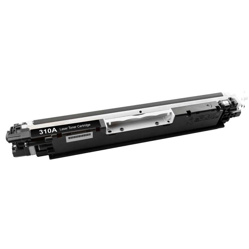 Toner Compatível HP CP1025 M175 M176 CE310A Black Evolut 1.3k