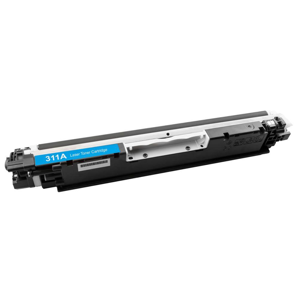Toner Compatível HP CP1025 M175 M176 CE311A Cyan Evolut 1k