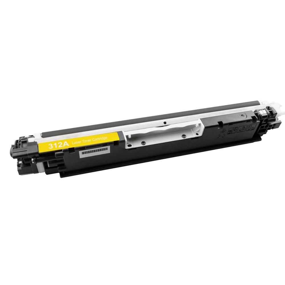 Toner Compatível HP CP1025 M175 M176 CE312A Yellow Evolut 1k