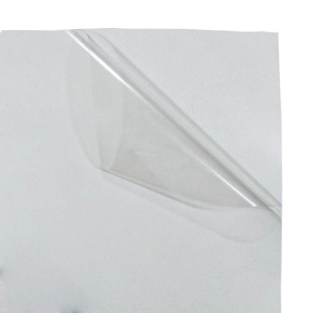 Vinil Adesivo A4 110g Transparente Brilho impermeável Marpax 10 folhas