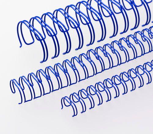 Wire-o para Encadernação 2x1 A4 Azul 7/8 para 180fls 24un