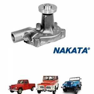 BOMBA D'AGUA 6 CILINDROS JEEP RURAL F 75 FORD WILLYS  NAKATA