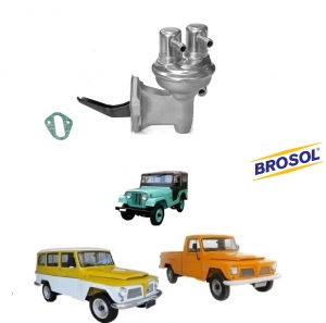 BOMBA DE GASOLINA JEEP 6 CILINDROS FORD WILLYS BROSOL