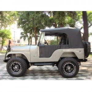 CAPOTA CONVERSIVEL PRETA JEEP FORD WILLYS CJ5