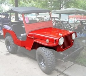 CARROCERIA COMPLETA DO JEEP WILLYS 1951