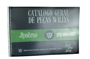 CATALOGO DE PEÇAS JEEP / RURAL / PICK UP F 75 / AERO WILLYS