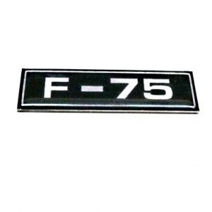 EMBLEMA F 75